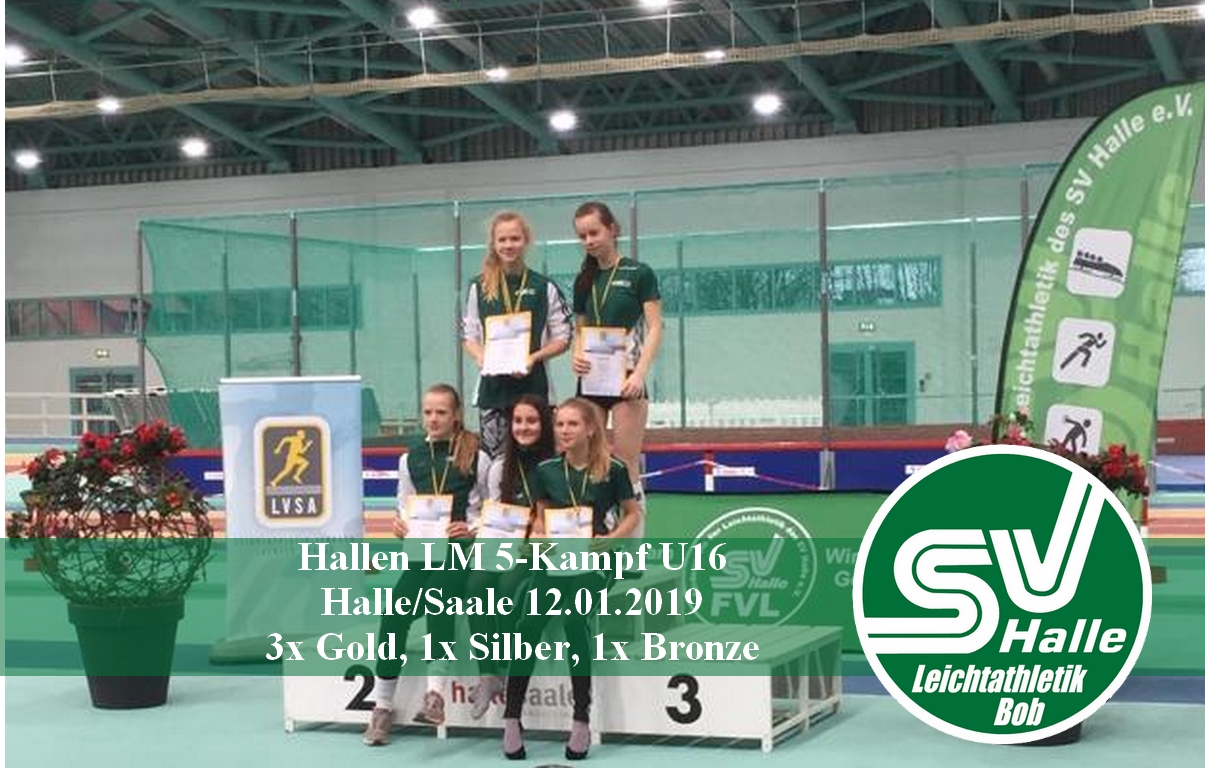 2019.01.12 HLM 5-Kampf - WU16 Mannschaftssieg - Foto Obudzinski