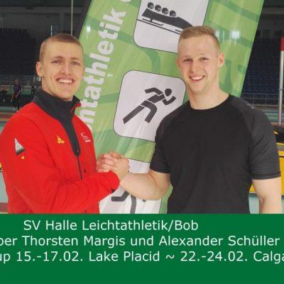 2019.02.07 Margis und Schüller im letzten Leistungscheck vor Lake Placid-Foto Philipp Töpfer