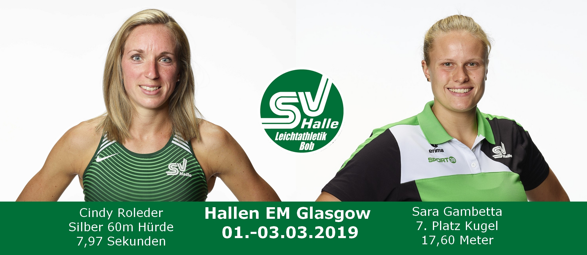 2019.03.03 - Hallen EM Glasgow Cindy und Sara Fotos Marco Warmuth