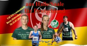 2019.07.04. - U20 EM Boras _ Teilnehmer aus Halle-Fotomontage Philipp Töpfer