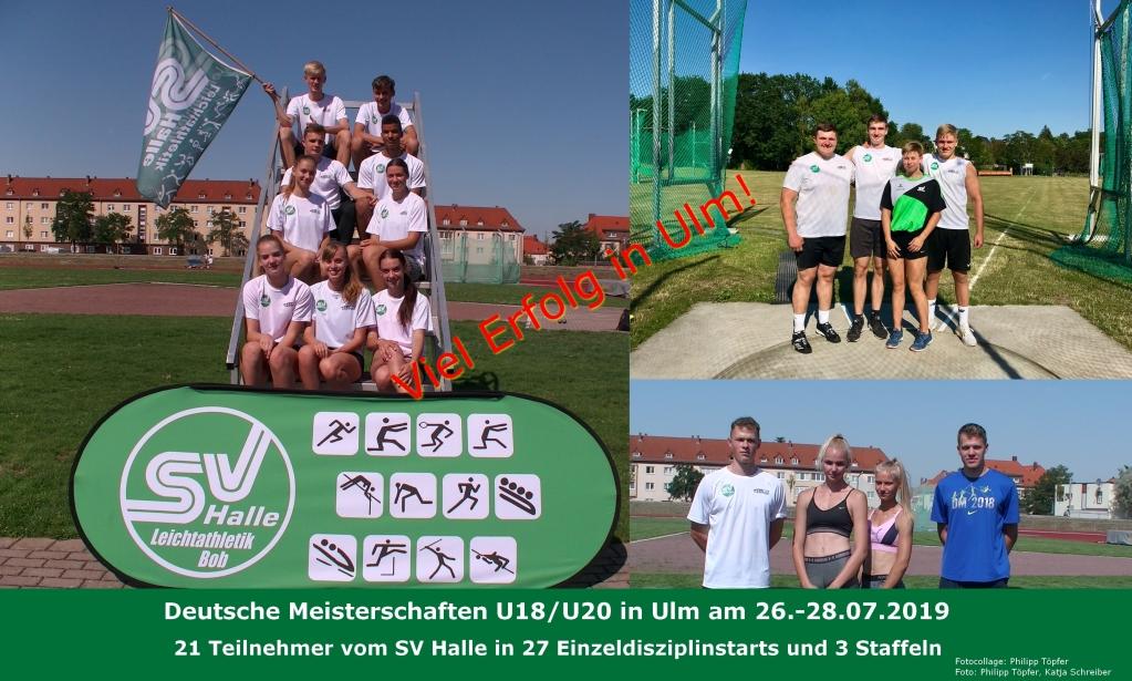 2019.07.25 - U18_U20DM Ulm Athletenvorschau