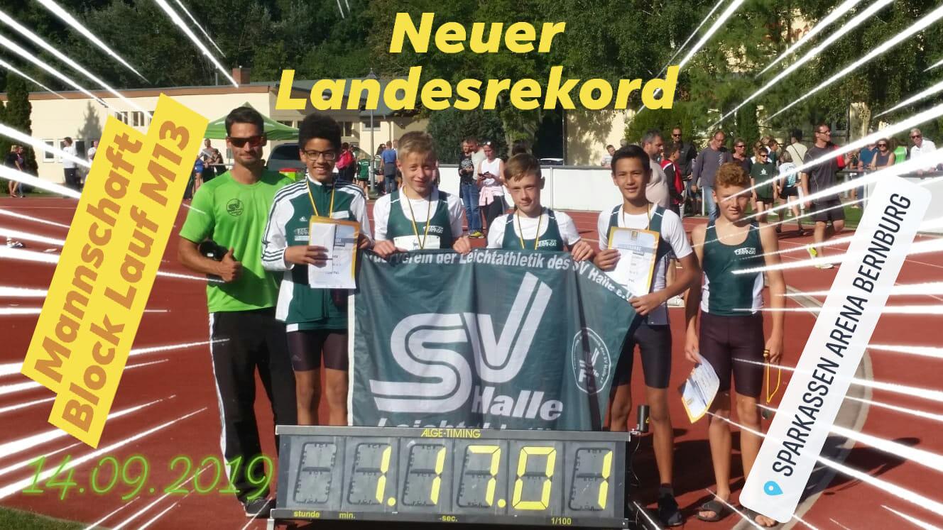2019.09.14 Team LM Benrburg Landesrekord