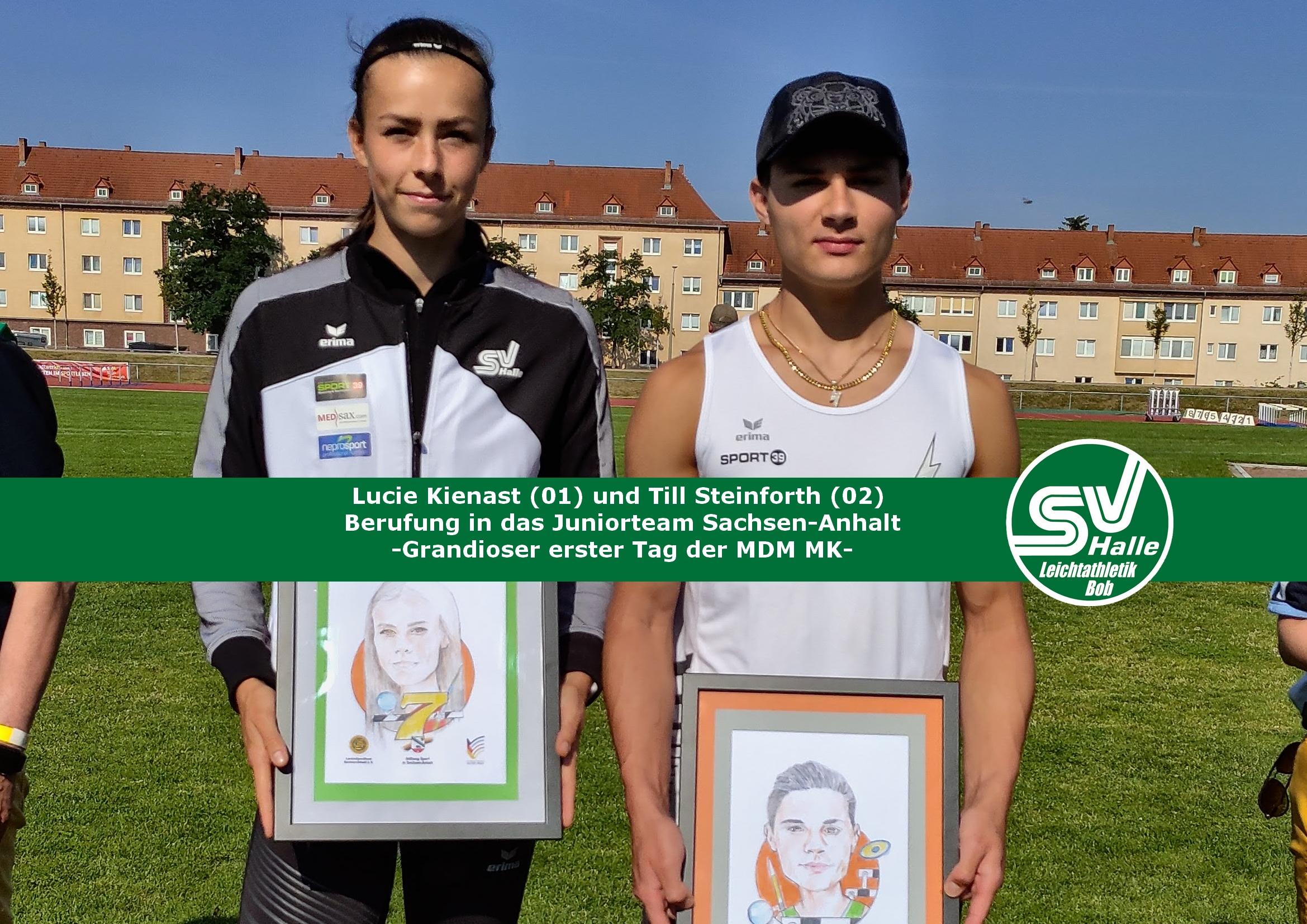 2020.07.18 - Juniorteam Berufung von Lucie Kienast und Till Steinforth2020.07.18 - Juniorteam Berufung von Lucie Kienast und Till Steinforth