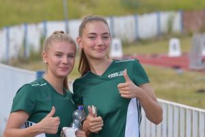 03.07.2020 - glückliche Trainingspartner Jule und Marlene - Martina Körner
