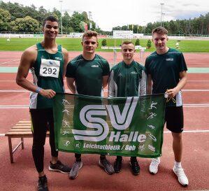 Sprint Viergespann Julien Clair, Till Blättermann, Christof Pohl, Yannick Herden