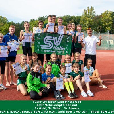 2020.09.19. - team lm Block Lauf