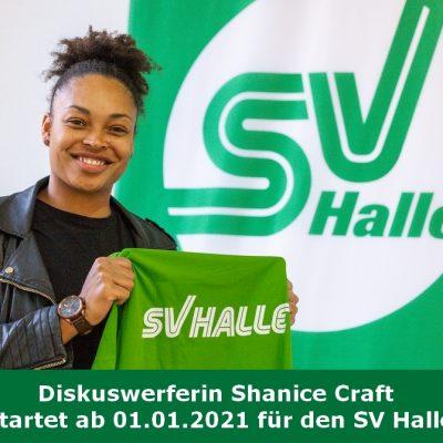 2020.11.17 - Shanice Craft wechsel zum SV Halle - Foto Holger John