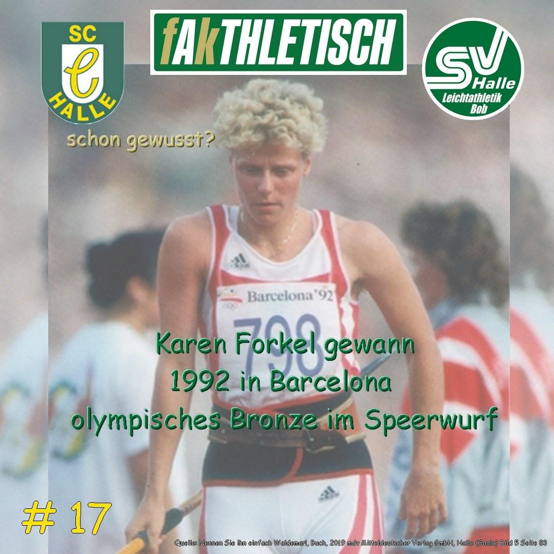 #17 Karen Forkel
