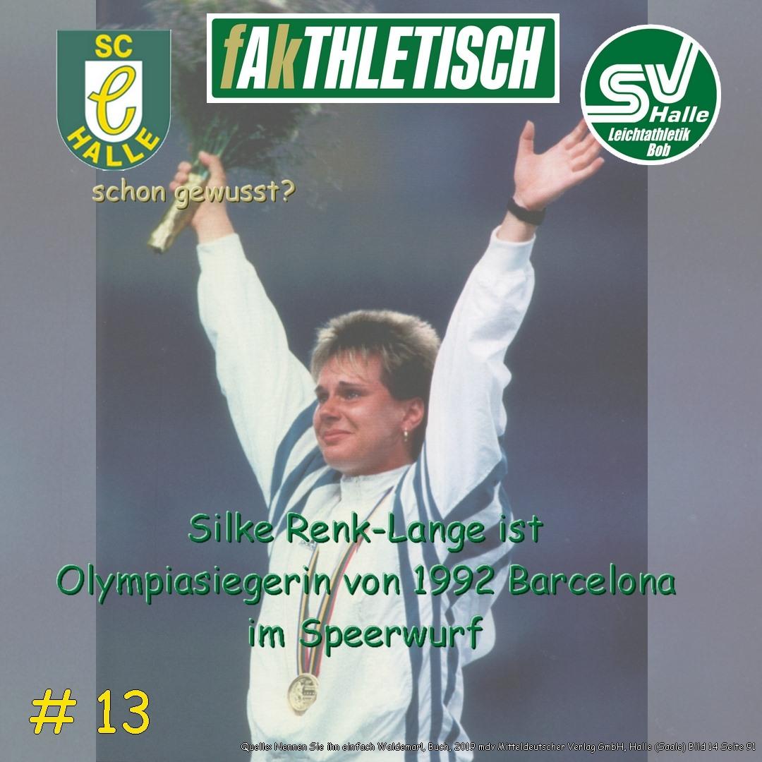 #13 Silke Renk Lange