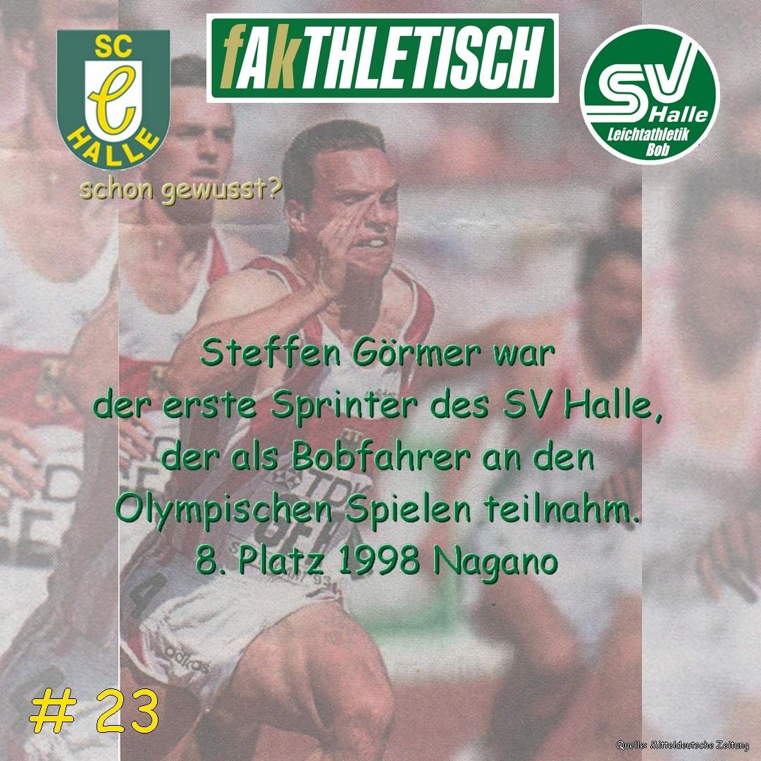 #23 Steffen Görmer